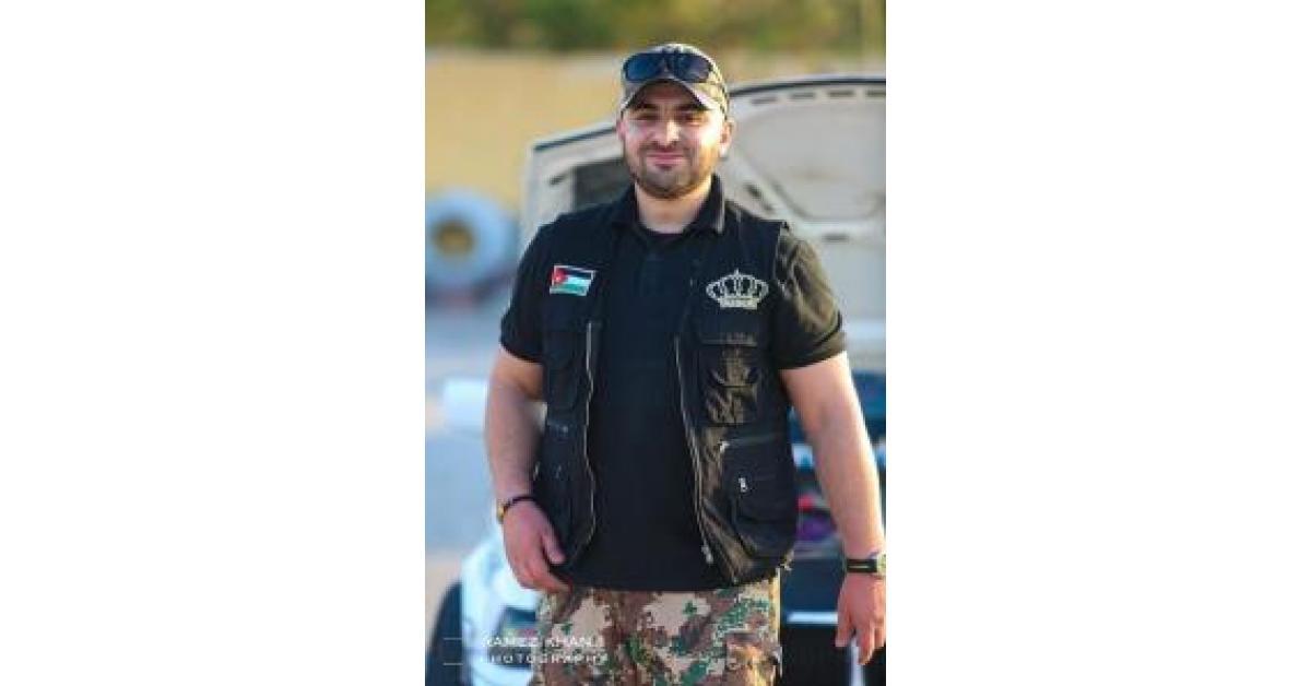 وفاة بطل رياضة سيارات أردني بحادث سير