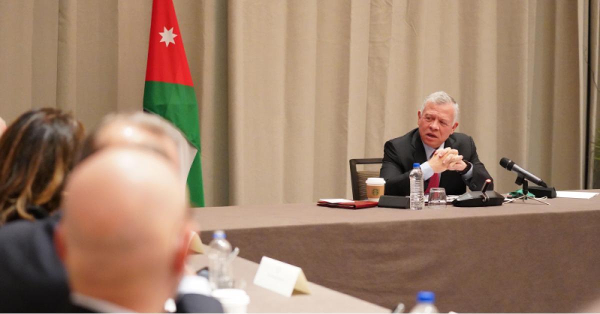 الملك: أهمية تفادي الإجراءات الإسرائيلية الأحادية