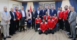 مجلس النواب يكرم أبطال الأردن في دورة الألعاب البارالمبية والأولمبية