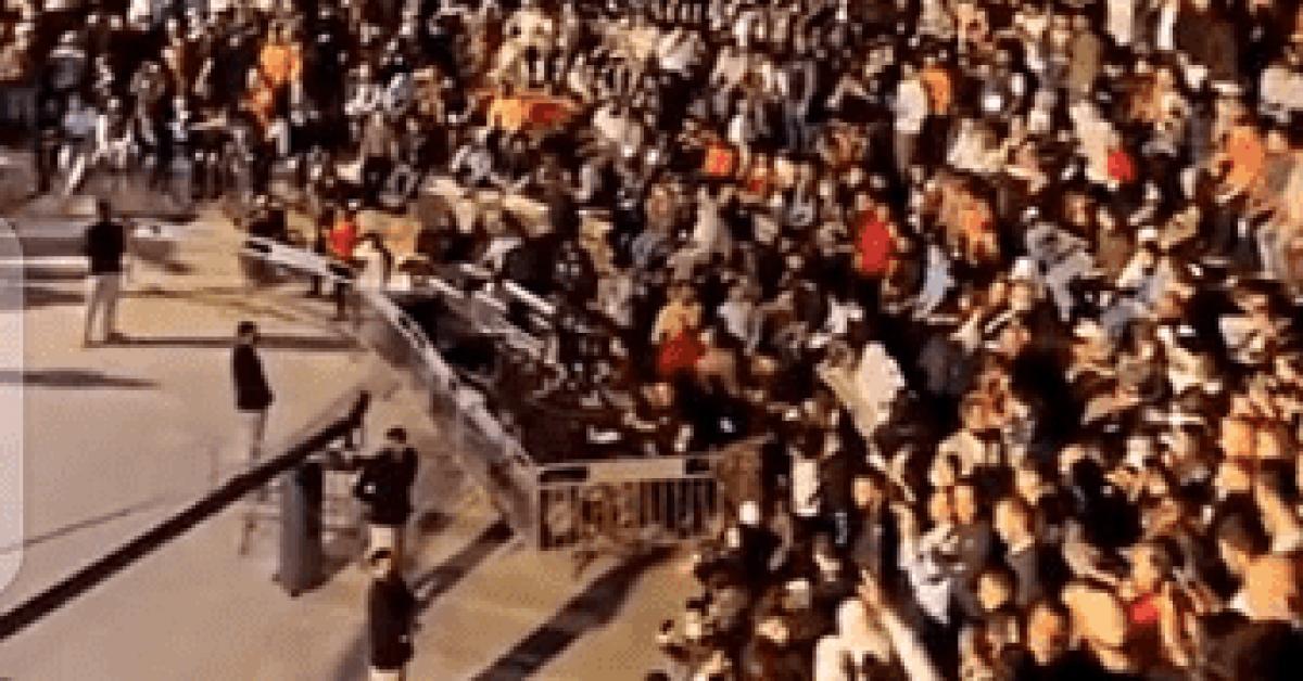 2000 شخص لم يستطيعوا الدخول لحفل جورج وسوف