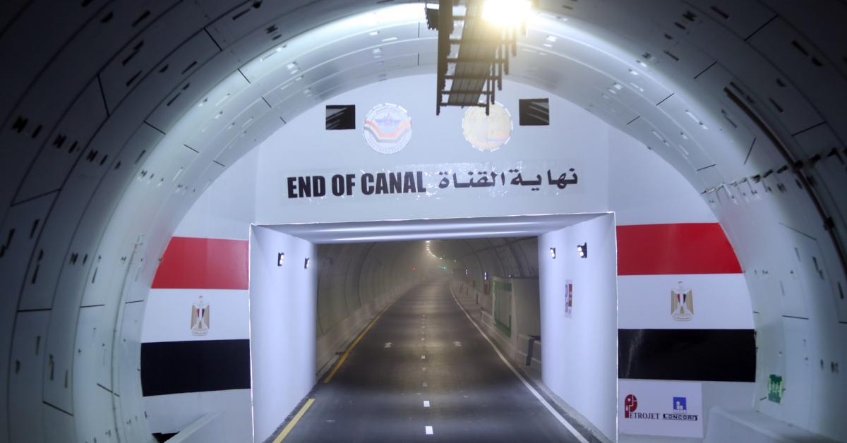 ما سبب حفر مصر أنفاقا أسفل قناة السويس؟.. صور