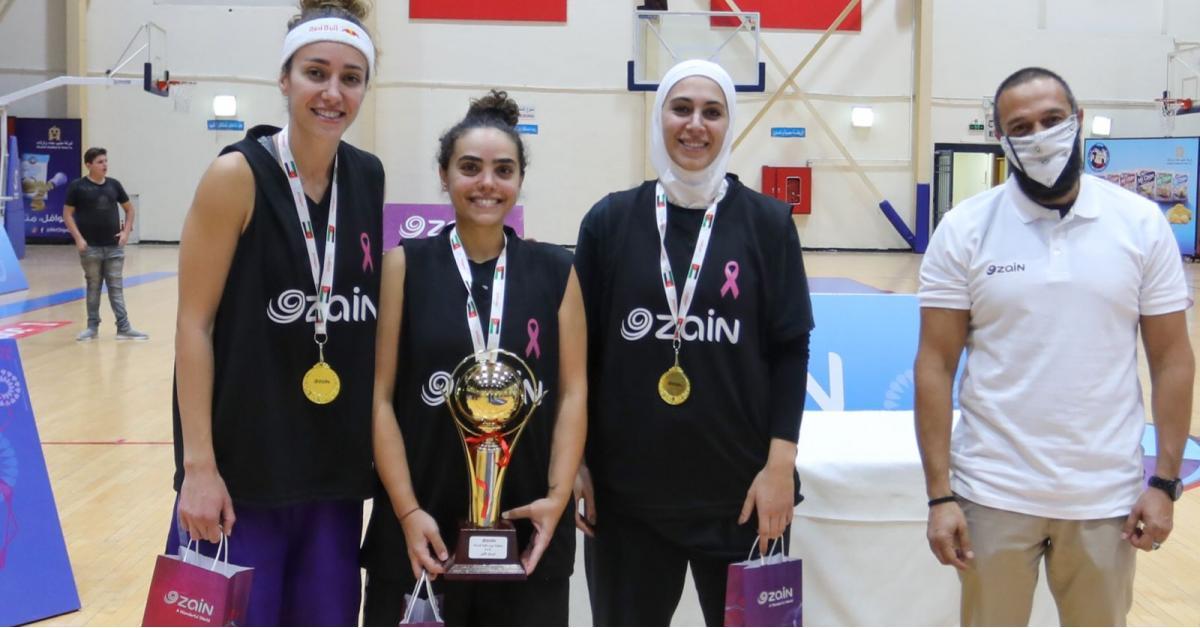زين تُقيم بطولة نشميات كرة السلة 3X3