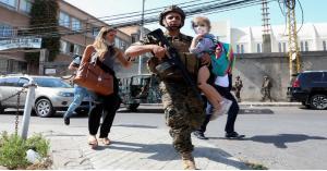 6 قتلى في اشتباكات مسلحة على هامش تظاهرة ضد المحقق العدلي في انفجار المرفأ