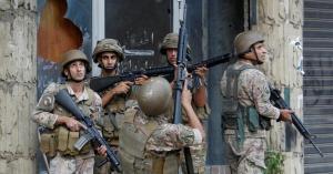 الجيش اللبناني يعلن اعتقال 9 أشخاص على خلفية أحداث الطيونة
