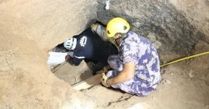 وفاة شخص وإصابة آخر إثر انهيار اتربه وحجارة داخل مغارة على شخصين في العاصمة