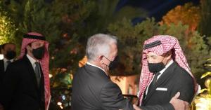 """بحضور جلالة الملك عبدالله الثاني .. صوت الأردن عمر العبداللات يغني """" دحنون ديرتنا """""""