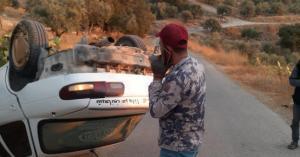 رجل دفاع مدني يقطع اجازته لينقذ عائلة باربد