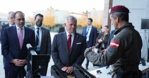 الملك يحضر تمرينا لشرطة المهام الخاصة النمساوية
