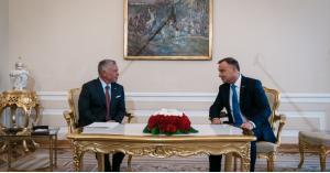 الملك من بولندا : الأردن اتخذ السلام خيارا استراتيجيا
