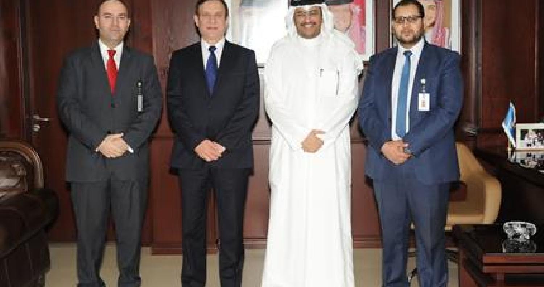 """بحث التعاون بين جامعة  """"التكنولوجيا""""  والملحقية الثقافية الكويتية"""