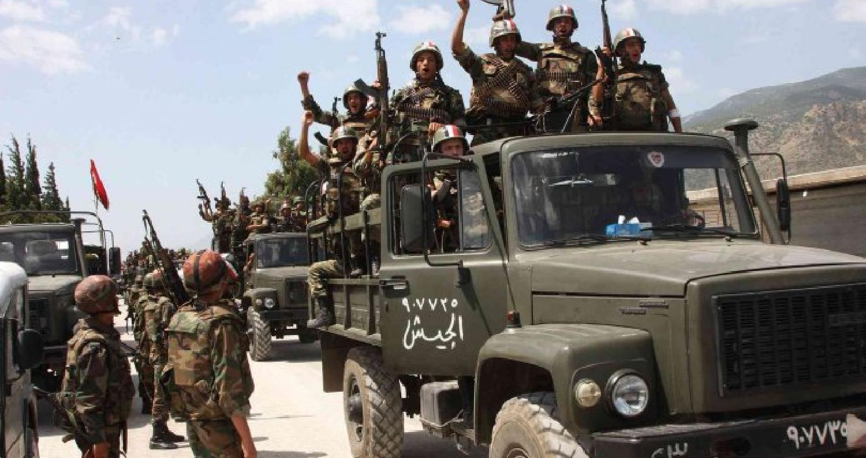 القوات السورية تستهدف جيش خالد بن الوليد في حوض اليرموك