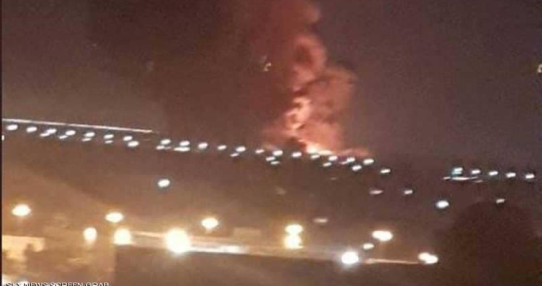 انفجار ضخم في محيط مطار القاهرة