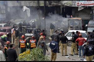 70 قتيلا بتفجير في باكستان