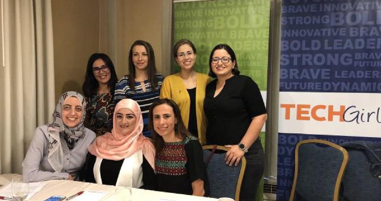 """4 اردنيات يشاركن ببرنامج """"فتيات التكنولوجيا"""" بالولايات المتحدة"""