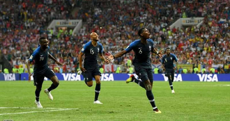 الديوك يتربعون على عرش الكرة العالمية وتحصد كأس العالم
