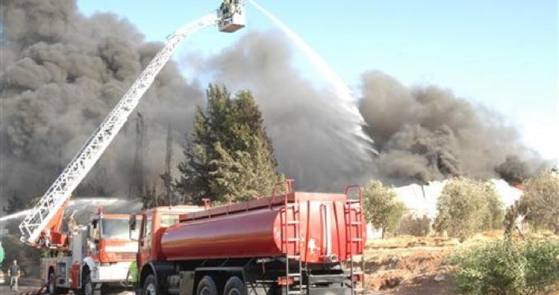 حريق يلتهم 4 دونمات حرجية في عجلون