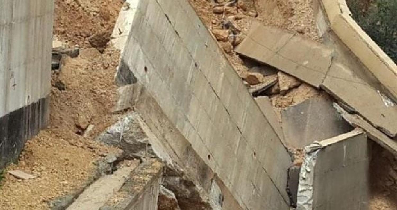 إصابة عاملين اثر سقوط جزئي لجدار في العبدلي