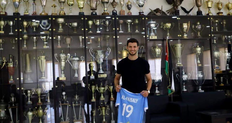 الفيصلي يتعاقد مع اللاعب أنس بني ياسين