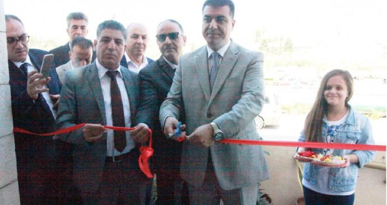 افتتح وزير الزراعة المهندس خالد الحنيفات الاربعاء، المبنى الجديد لمختبرات الصحة النباتية في منطقة عين الباشا.