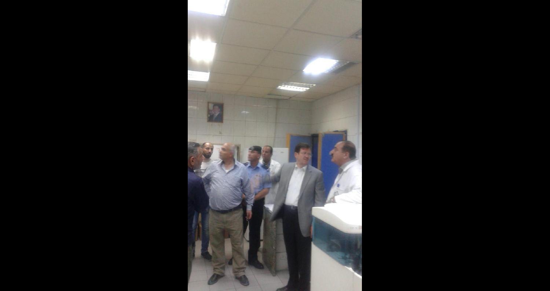 الشياب يتفقد عددا من أقسام مستشفى البشير