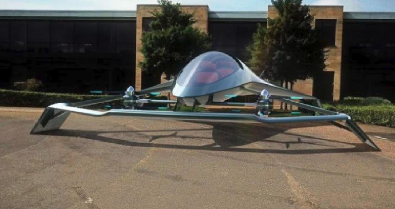 """صممت شركة أستون مارتن منتجة السيارات الرياضية الفارهة المفضلة لشخصية العميل السري البريطاني الشهير نموذجا مصغرا لطائرة مبتكرة وصفتها بأنها """"سيارة"""
