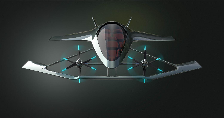 أستون مارتن تعرض نموذج سياراتها الطائرة