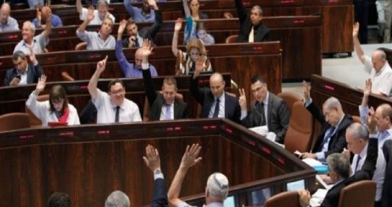 """أقرّ البرلمان الاسرائيلي فجر اليوم الخميس مشروع قانون ينص على ان اسرائيل هي """"الدولة القومية للشعب اليهودي"""" وأن حق تقرير المصير فيها """"يخص الشعب اليهودي"""