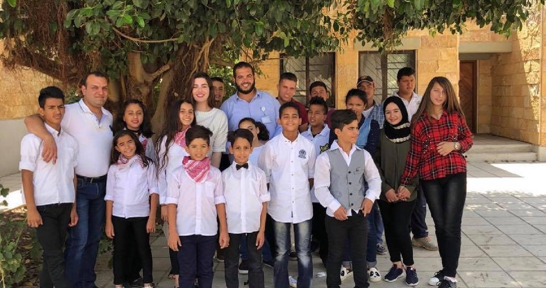 روان بن حسين تزور قرية الأطفال في اربد