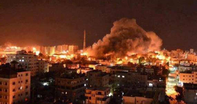 طيران الاحتلال يشن هجوما واسعا على قطاع غزة