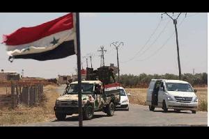 """أفادت وسائل اعلام روسية، امس السبت، ان طريق """"عمان - دمشق"""" أصبح آمن بالكامل، بعد تطهيره من المسلحين."""