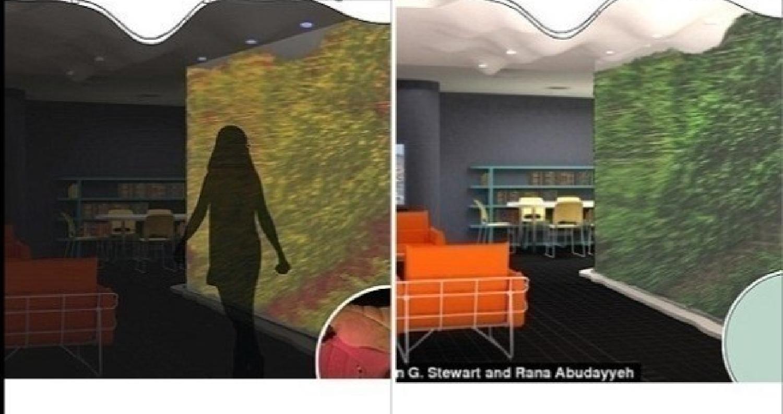 إبتكر باحثون بجامعة تينيسي الأمريكية نظاماً فريداً لطبيعة المنازل في المستقبل، يتمثل في نباتات معدلة جينياً مدمجة داخل جدران المنزل، تعمل بمثابة جهاز