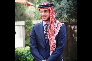 """غرد ولي العهد في حسابه على تويتر كاتبا : """"أبناء وبنات #أردننا هم دوما مدعاة للفخر، فمواهبهم تتجاوز الحدود التقليدية نحو الإبداع، لتظهر ثراء الأردن"""