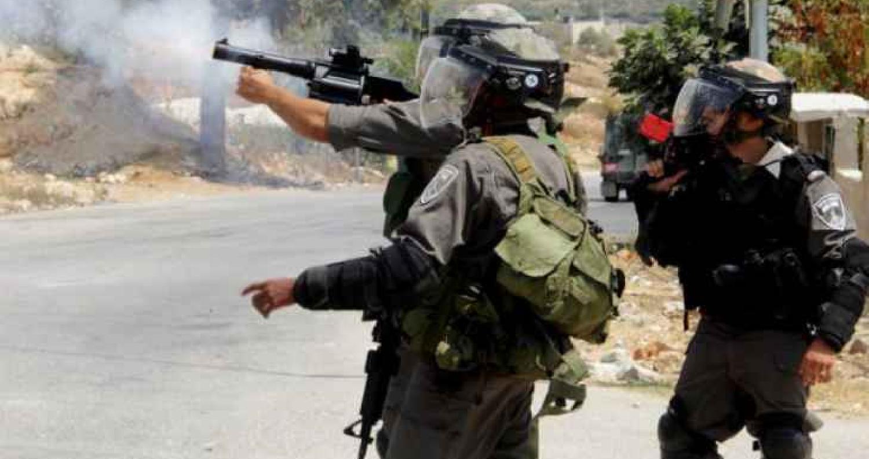 استشهاد شاب فلسطيني و اصابة 6 بينهم امرأة في سختين