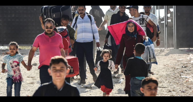 """عودة السوريين من البلدان التي لجأوا إليها في الشرق الأوسط، إلى بلدهم، """"يجب أن تتم بشكل طوعي وليس على نحو قسري"""""""